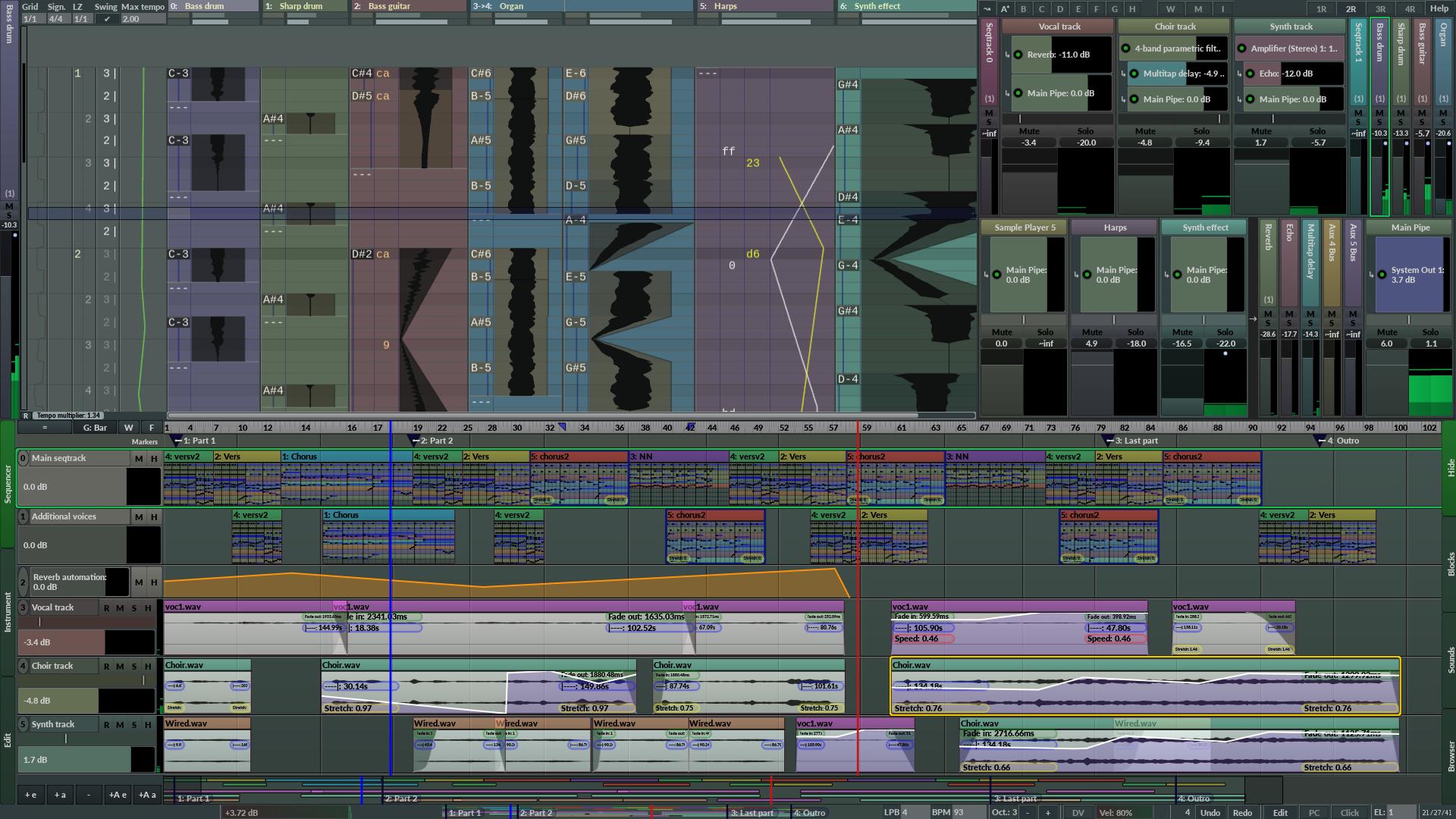 Radium - The music editor